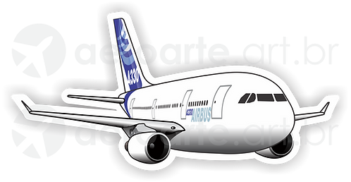 Adesivo Silhueta Airbus A330