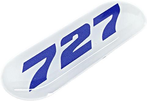 Adesivo Resinado Boeing 727