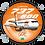 Thumbnail: Adesivo Bolacha Boeing 737-800 GOL 2ª Pintura