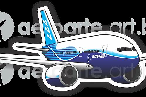 Adesivo Silhueta Boeing 777