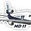 Thumbnail: Adesivo Silhueta McDonnell Douglas MD-11