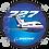 Thumbnail: Adesivo Bolacha Boeing 727