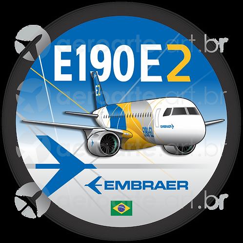 Adesivo Bolacha E190 E2