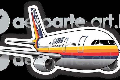 Adesivo Silhueta Airbus A300