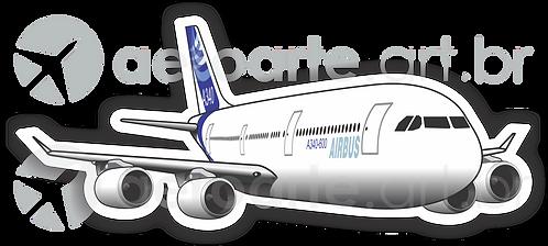 Adesivo Silhueta Airbus A340-600
