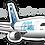 Thumbnail: Adesivo Silhueta Airbus A330 NEO