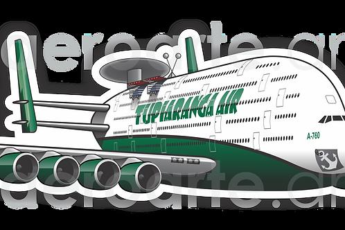 Adesivo Silhueta A-760 TUPIARANGA AIR