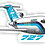 Thumbnail: Adesivo Silhueta Boeing 727 Cruzeiro