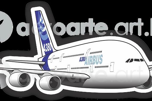 Adesivo Silhueta Airbus A380