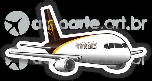 Adesivo Silhueta Boeing 757 UPS