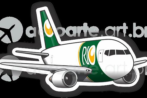 Adesivo Silhueta Boeing 767F RIO
