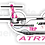 Thumbnail: Adesivo Silhueta ATR 72 TRIP Rosa