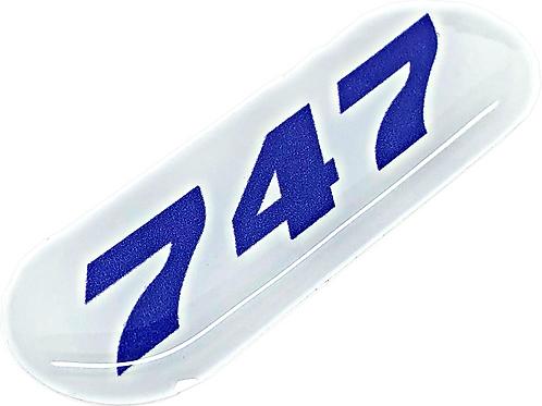 Adesivo Resinado Boeing 747