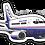 Thumbnail: Adesivo Silhueta Boeing 737-500