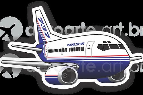 Adesivo Silhueta Boeing 737-300