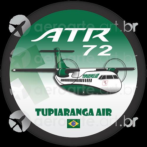 Adesivo Bolacha ATR-72 TUPIARANGA AIR