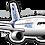 Thumbnail: Adesivo Silhueta Airbus A320 NEO
