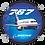 Thumbnail: Adesivo Bolacha Boeing 767