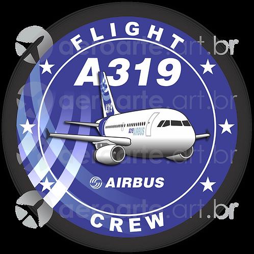 Adesivo Bolacha Airbus A319 IAE