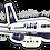 Thumbnail: Adesivo Silhueta Boeing 757 VARIG
