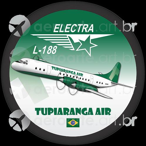 Adesivo Bolacha L-188 ELECTRA II TUPIARANGA AIR