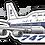 Thumbnail: Adesivo Silhueta Boeing 747-400 VARIG