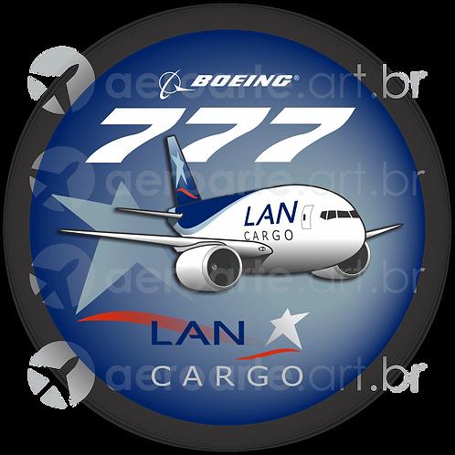 Adesivo Bolacha Boeing 777F LAN Cargo