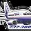 Thumbnail: Adesivo Silhueta Boeing 737-300