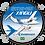 Thumbnail: Adesivo Bolacha EMB-121 XINGU