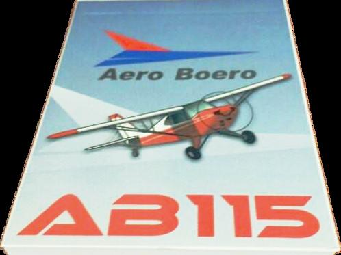 Bloco de Notas Aero Boero AB-115