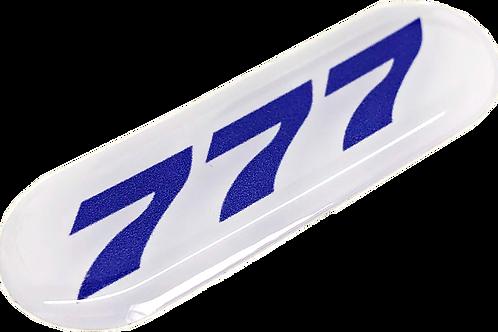 Adesivo Resinado Boeing 777
