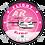 Thumbnail: Adesivo Bolacha ATR 72 TRIP Rosa