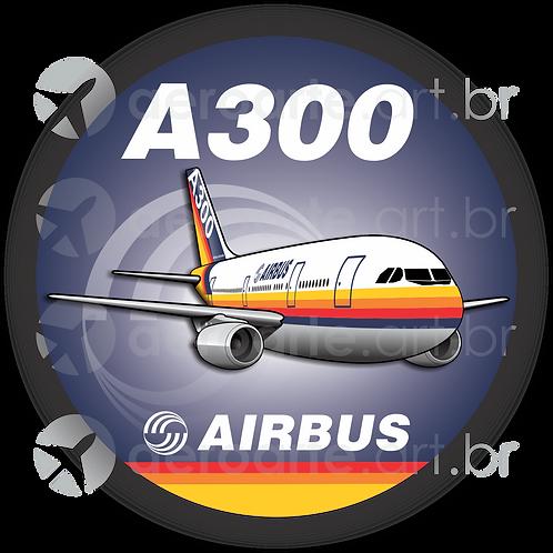 Adesivo Bolacha Airbus A300