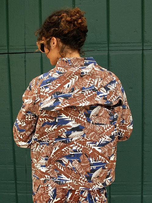 Wave Derby Jacket / Tropical