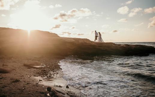 Couple on the PEI Shore