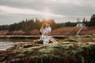 Prince Edward Island Engagement Shoot
