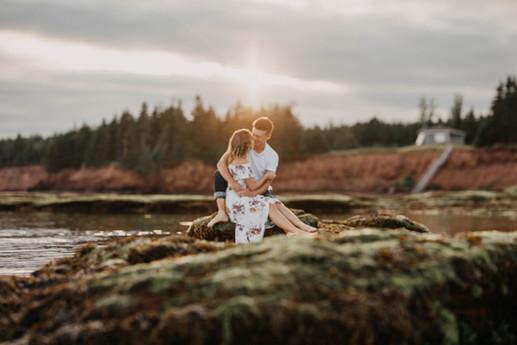 Prince Edward Island Engagement Shoot