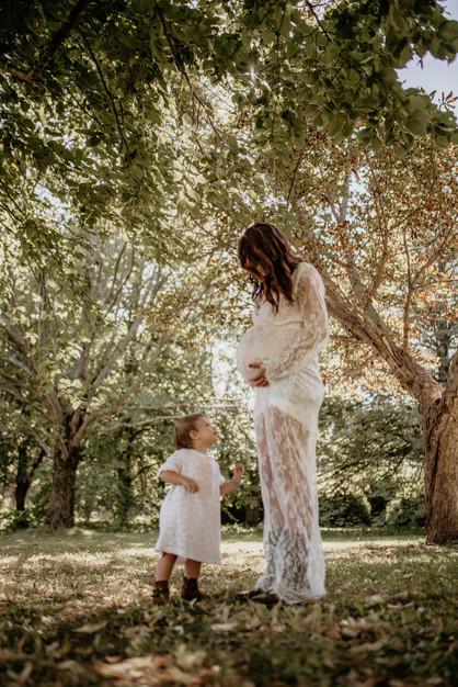 Maternity shoot in Prince Edward Island