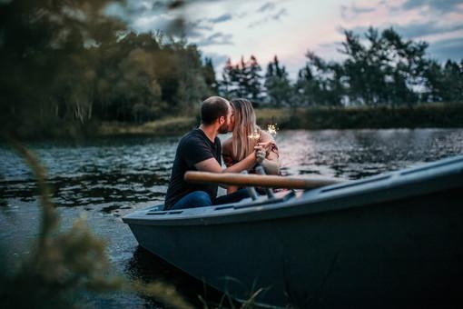 Engagement shoot in Prince Edward Island