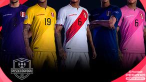 Nuevo kit de Perú - Copa America 2021