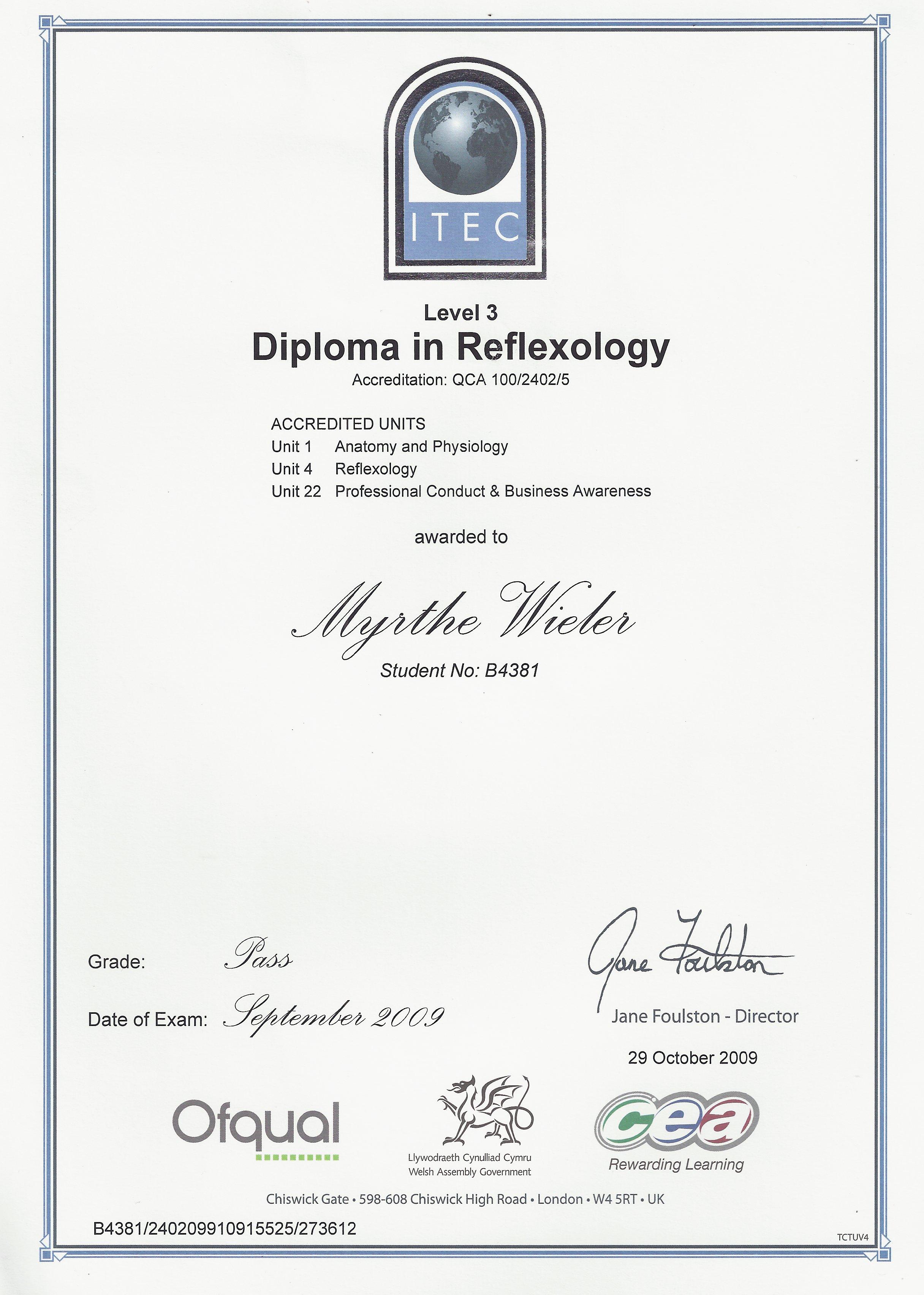Dip Reflexology