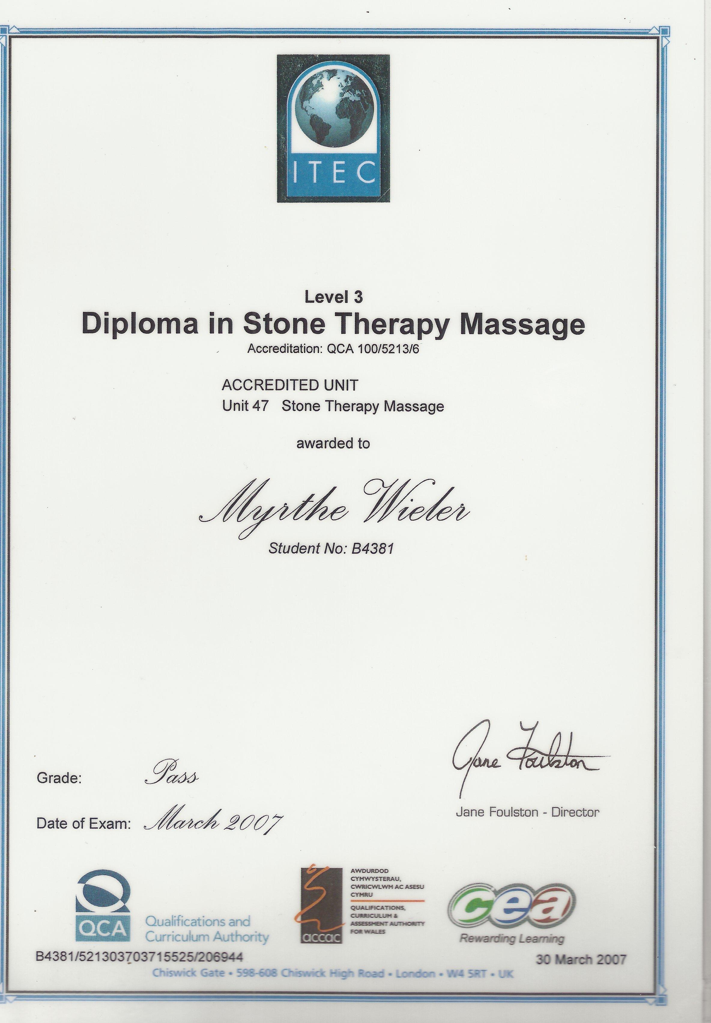 Dip Ston Therapy