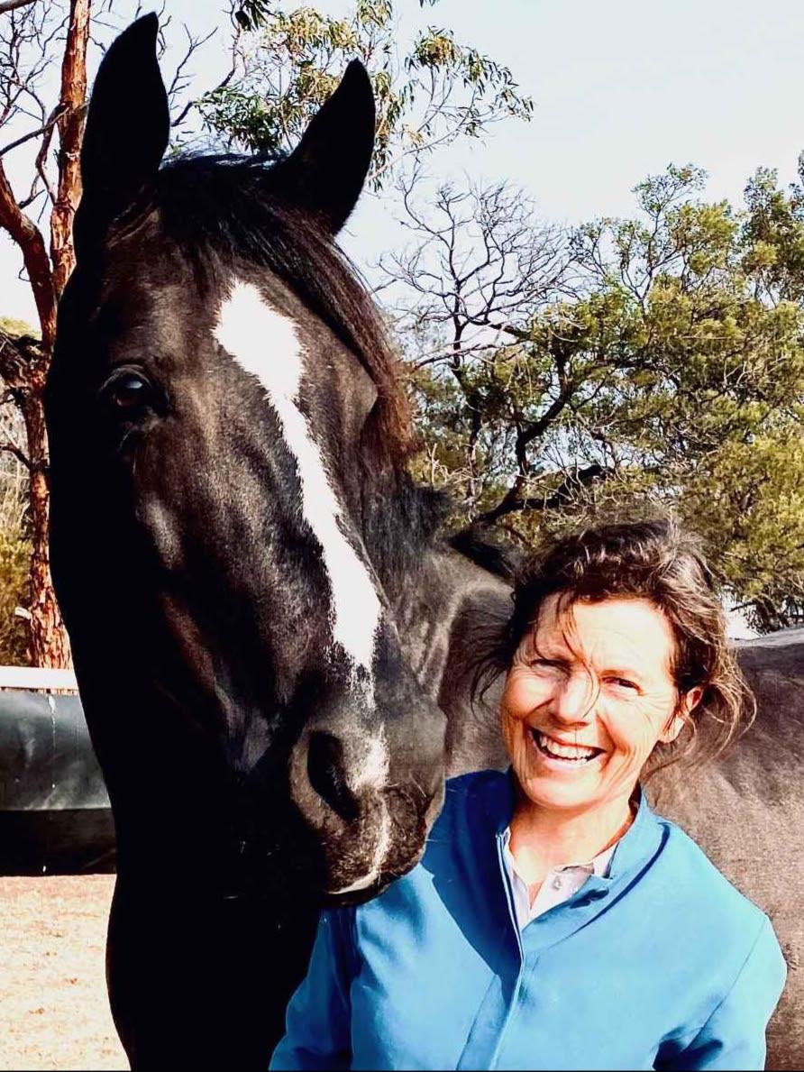 Susan Peden and her horse