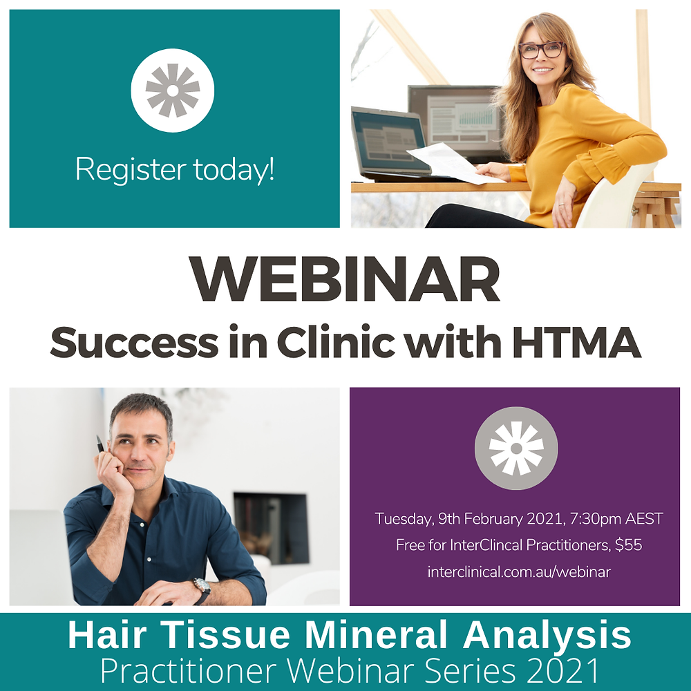 Webinar success in clinic with HTMA
