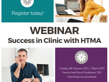Webinar: Success in Clinic with HTMA