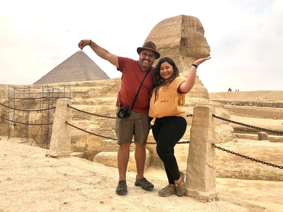 Pirámide y Esfinge, Egipto