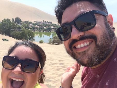 Entre sabanas de arenas y una laguna con aguas color esmeralda.