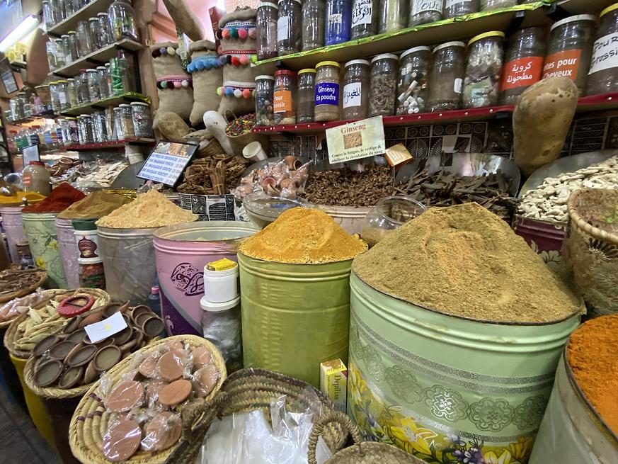 Especias, Marruecos