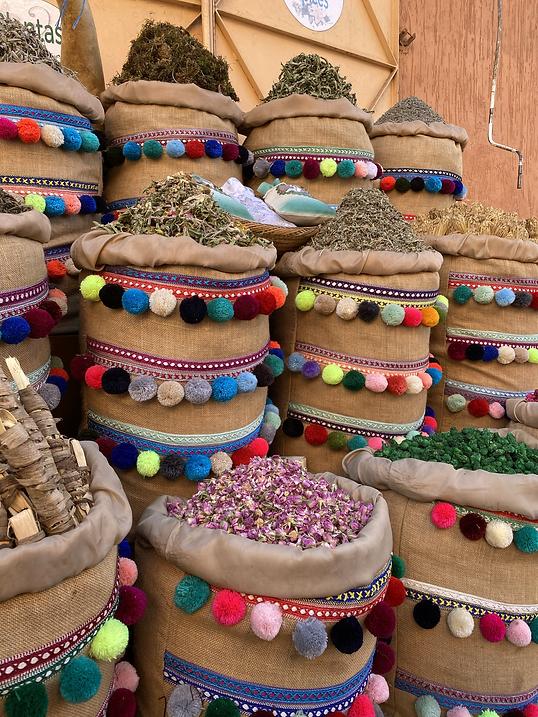 Mercado, Marruecos