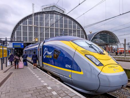 Nueva ruta de tren desde $55, entre Amsterdam y Londres